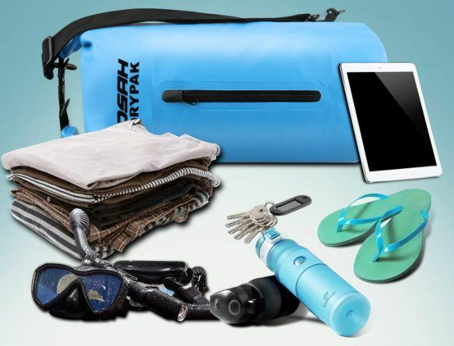 bolsa estanca, proteccion contra el agua para tus cosas
