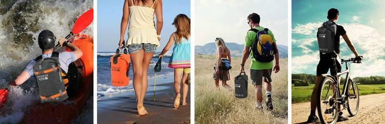 bolsas estancas para actividades deportivas